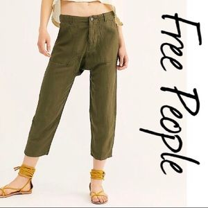 Free People X Blank NYC Drop Crotch Pant NWT 28